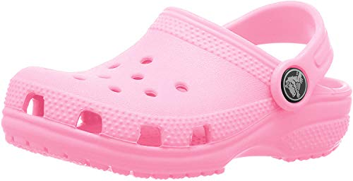 crocs Unisex-Kinder Classic Kids Clogs, Pink (Pink Lemonade 669), 23/24 EU