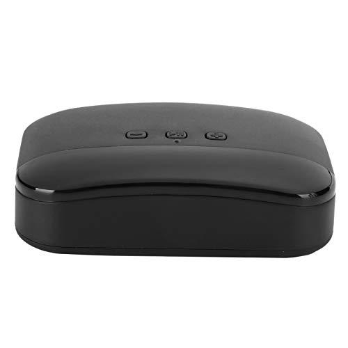 SALUTUY Receptor de música, conexión NFC Multifuncional Adaptador de Audio USB pequeño y liviano para Uso doméstico