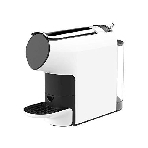 JYDQB Smart Automatic Capsule Coffee Machine Espresso coffee Electric Coffee Pot Level Concentration Capsule Espresso Preset Compatible for kitchen (Color : White)