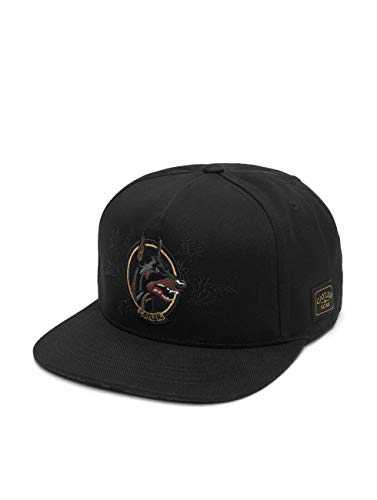Cayler und Sons Herren Snapback Caps WL Whooo schwarz Verstellbar