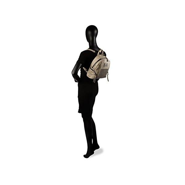 31Q2gWhW78L. SS600  - Lois - Mochila de Mujer Pequeña de Diseño Casual. para Diario o Viaje. Práctica Resistente Cómoda y Ligera. Garantía Original. Bonito Diseño. 93199, Color Beige