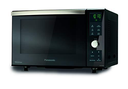 Panasonic NN-DF383BGPG Mikrowelle (1000 Watt, Ofen Kombi, Inverter Mikrowelle, 23 Liter, ohne Drehteller) silber-schwarz