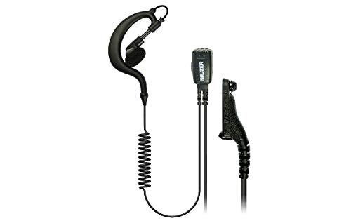NAUZER PIN-29-M7 Pinganillo Profesional Micro-Auricular para Walkie Talkie Motorola DMR MOTOTRBO, Digital/analógico, Compatible con Modelos: DP-3400, DP-3401, DP-3600, DP-3601,etc.