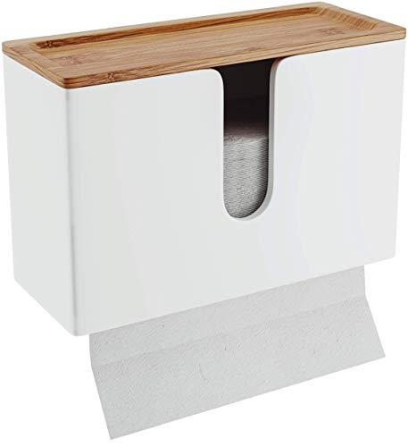 Papierhandtuchspender, Top, Bianco