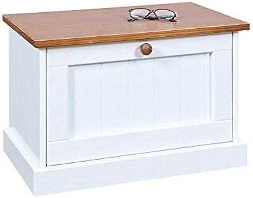 Esidra Glenburn Mobile Container Flip  nung, Holz, Weiß 64 37.35 41