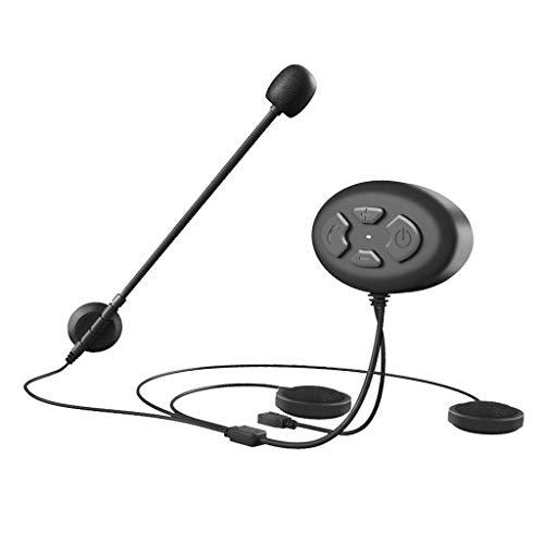 GaoF Intercomunicador con Auricular Bluetooth DK12 para Scooters/Motocicletas