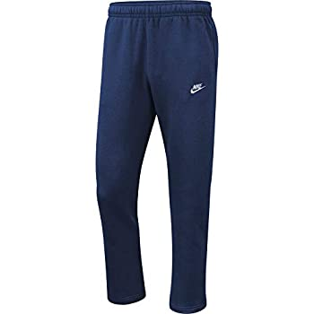 Nike Men s NSW Club Pant Open Hem Midnight Navy/Midnight Navy/White Medium