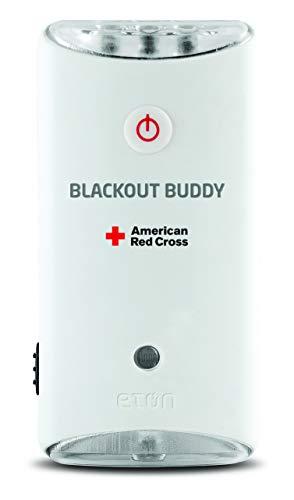 American Red Cross Blackout Buddy Swivel Emergency Flashlight, Blackout Alert & Night Light (Pack of 2)