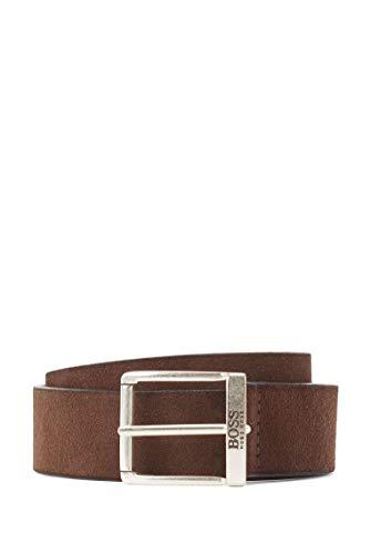 BOSS Joni-SD_sz35 Cinturón, Marrón (Dark Brown 201), 95 (Talla del fabricante: 80) para Hombre