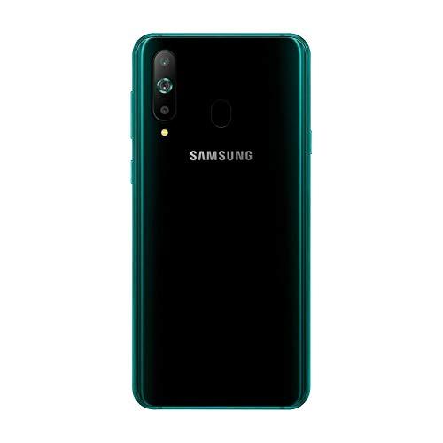 Samsung Galaxy A8s SM-G8870 128GB, Dual Sim, 6.4? Infinity-O Display, 6GB RAM, Triple Rear Camera 24MP+5MP+10MP, GSM Unlocked International Model, No Warranty (Black Green)