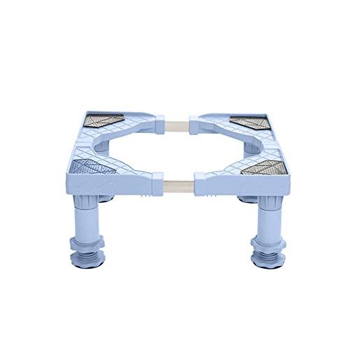 YiHYSj Base de la Lavadora Multifuncional 4 Pies portátil Secadora Soporte lavavajillas Heightening Estante Ajustable Largo 50-60cm Ancho 45-58cm Nevera y Aire Acondicionado Base (4Legs,17-20cm)