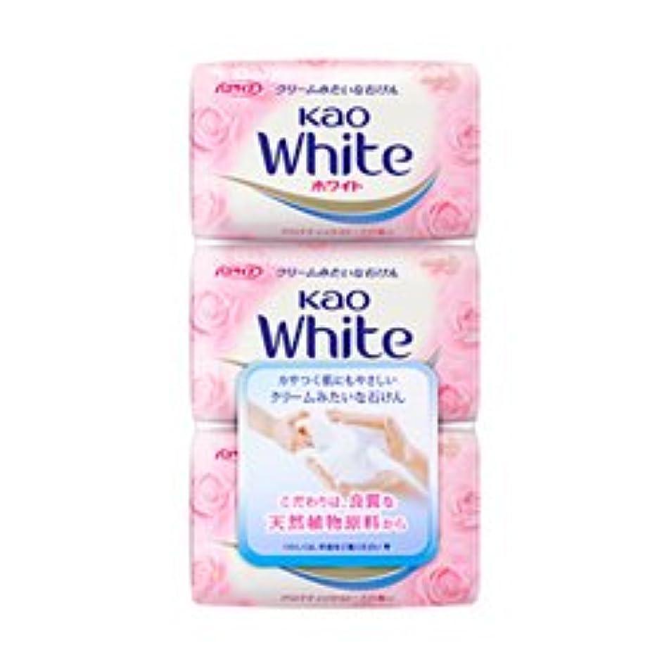 セクション豆腐信頼性【花王】花王ホワイト アロマティックローズの香り バスサイズ (130g×3個) ×20個セット