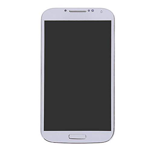 zNLIgHT Piezas de Tel¨¦Fono internas | LCD Pantalla t¨¢ctil digitalizador con Marco para Samsung Galaxy S4 i337 I9500 i9505-blanco