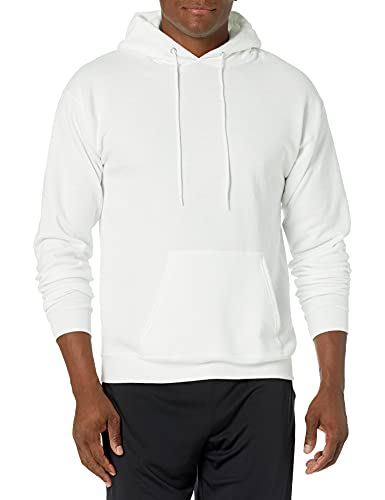 Hanes Men's Pullover EcoSmart Hooded Sweatshirt,...