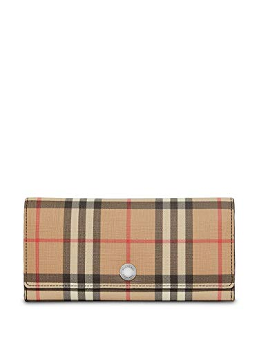 Luxury Fashion | Burberry Dames 8015120 Beige Leer Portemonnees | Seizoen Permanent