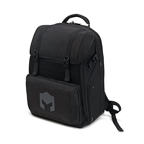 """CATURIX CUMBATTANT - Gaming-Rucksack für Laptops und Konsolen bis 17,3"""", wasserabweisender Rucksack mit 38l Volumen, schwarz"""