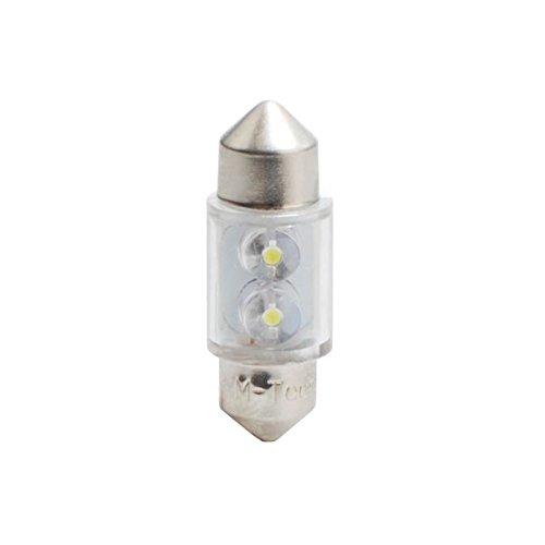Planet Line PL025W Ampoules LED Navette C5W 12V,Blanc, Set de 2