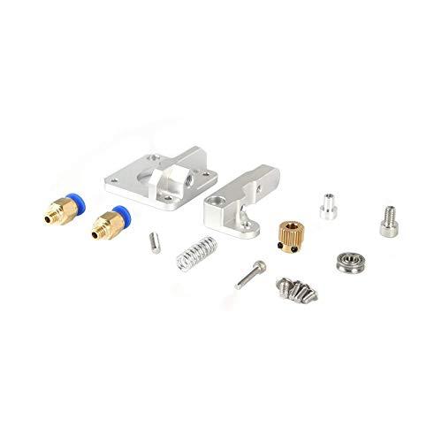 Accessori per stampante Per estrusore CR10 vicino alimentatore filo universale remoto aggiornamento in alluminio MK8 1.75 mm sabbia argentata con connessione pneumatica stampante 3D parchi componenti