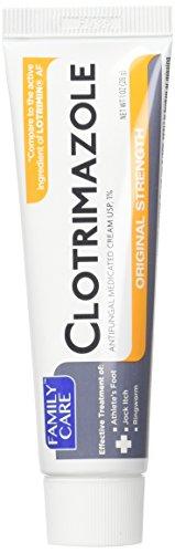 3 Pk. Family Care 831527005052-1 Clotrimazole Anti-Fungal Cream , 1% USP