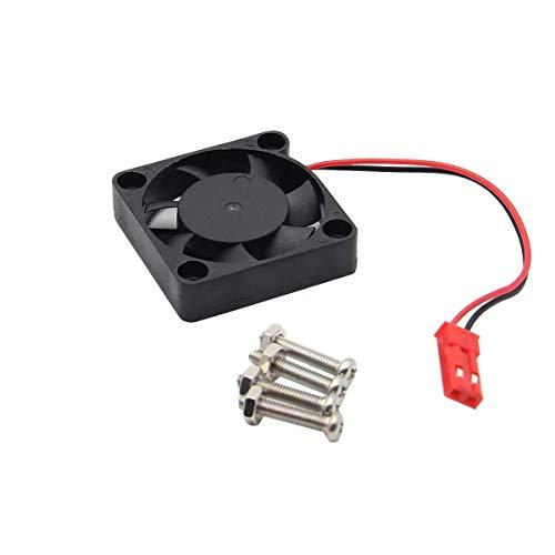 Beck Orlando DIY - Mini ventilador ultra delgado de bajo ruido para Raspberry Pi 4 modelo B / 3B+ / 3B / 2B / B +