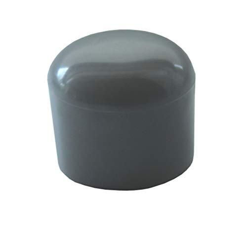 10 Piezas de tapones de tubo de plástico (PVC), tamaños elegible de 30mm a 90mm, tubo redondo / patín deslizante / protector de suelos / tapa para patas de silla (Diámetro exterior: 75-76mm)