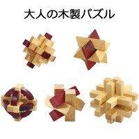 大人の木製パズル 5点 145-225