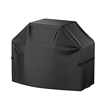 Grill Cover 58 inch BBQ Gas Grill Cover Waterproof Weather Resistant UV and Fade Resistant UV Resistant Materia for Weber Char-Broil Nexgrill Grills and More VIBOOS