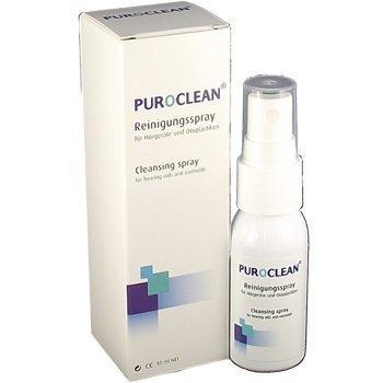PUROCLEAN® 30 ml Reinigungs-Spray Pflegemittel für Hörgeräte