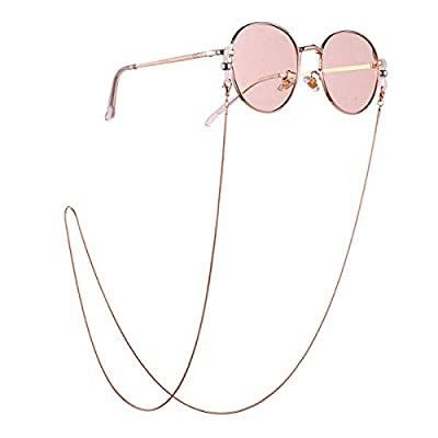 DERCLIVE 1PC Eyeglasses Anti-Lost Neck Strap Sunglasses Retainer Chain Cord - 01 Show Your Personality and give You Style
