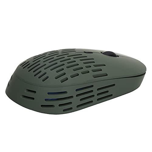 Kabellose Maus Im Hollow-Design für Desktop-Laptop-Smart-TV mit USB-Schnittstelle, 2,4-G-Funkübertragung, 800/1200/1600 DPI 3-Geschwindigkeitseinstellung, Dunkerün