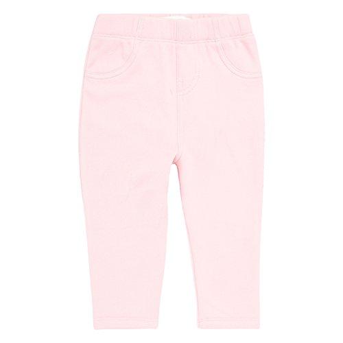 Levi's Baby Girls' Knit Leggings with Plush Lining, Blush, 18M