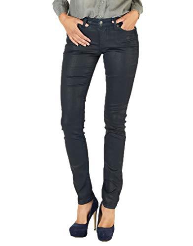 MAC Jeans Skinny Clean Leder Optik Blue Damen 0380 D021 599670 W36 L32