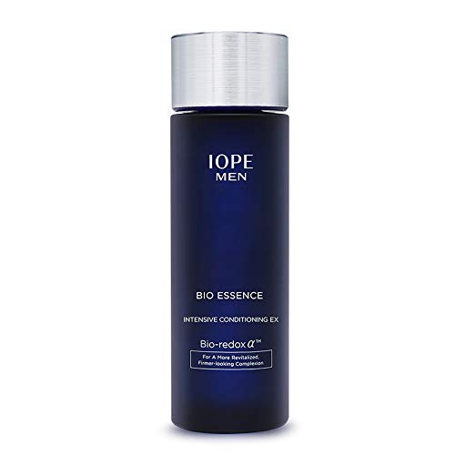 31Q3AjNRVFL - IOPE Men Bio Essence Intensive Conditioning Moisturizing Water Serum for Face, Anti Aging Face Serum, Skin Brightening and Tightening Formula for Fine Lines and Sun Damage, 4.90 FL OZ