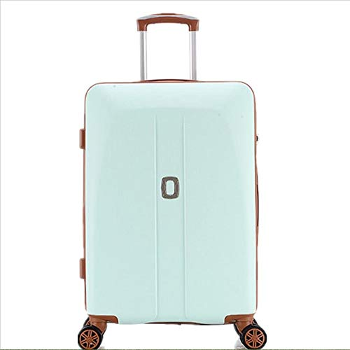 SongMyao Travel Luggage Case Trolley Car Travel Luggage Bag Password Caster Suitcase Pink Girl Trolley Case (Size : 24)