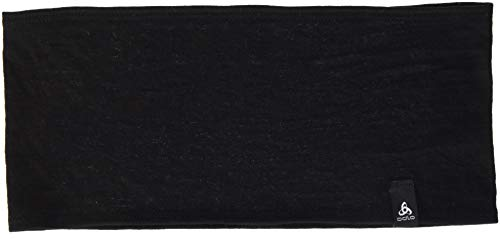 Odlo Headband Natural 100% Merino WARM Stirnband, Black