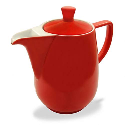 Friesland Kaffeekanne 0,6l Rot Porzellan