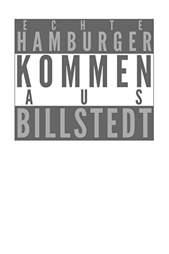 Echte Hamburger kommen aus Billstedt: Dodgrid (gepunktet) I Agenda Journal I A5 gebunden I 120 Seiten I Softcover I...
