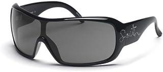 Smith Optics - Smith Gafas de Sol Domino, Negro con Brillantes