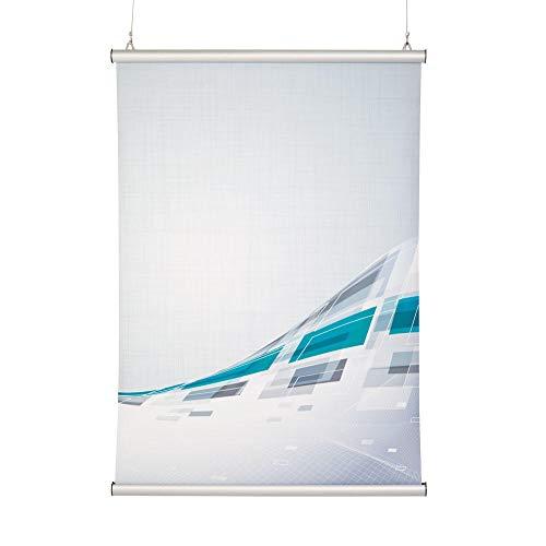 Posterschiene, Posterleiste, Klemmleiste für das Format DIN A0 quer - Ideal für große Bilder und große Fotos bis 1,20 m