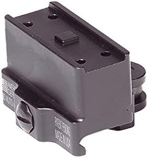 American Defense AD-T1-11 STD Riflescope Optic Mount, Black