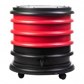 Lombricomposteur WormBox 4 Plateaux Rouge - 64 litres - Recyclez Vos déchets organiques en Engrais pour Vos Plantes