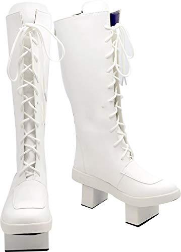 GSFDHDJS Cosplay Stiefel Schuhe for Vocaloid Megurine Luka Senbon Zakura