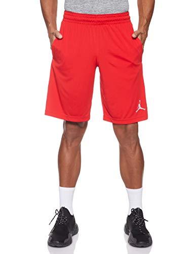 NIKE 23 Alpha Dry Knit Short Pantalones Cortos de Deporte, Hombre, University Red/White/White, XS