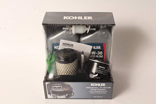 Kohler 22 789 01-S 5400 Series Maintenance Kit 17-19.5hp Fits KS530, KS540, KS590,KS595