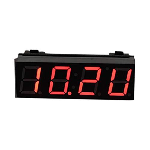 Pantalla LED Reloj digital Coche Reloj eléctrico Temporizador digital Reloj de temperatura...
