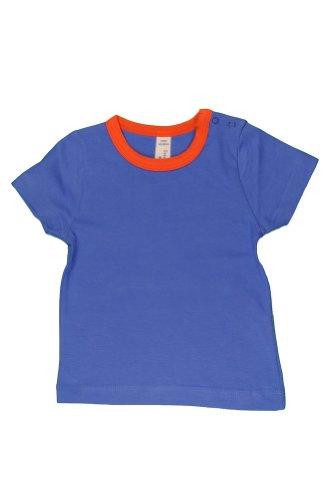 Sense Organics - T-shirt Bébé garçon Tabris S/S T-Shirt - Bleu (Solid Marine Blue) - 18 mois