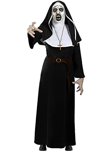 Funidelia | Disfraz de La Monja Valak Oficial para Hombre y Mujer Talla XL The Nun, Pelculas de Miedo, Terror