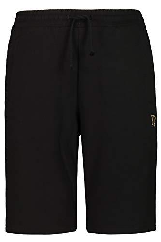 JP 1880 Herren große Größen bis 8XL, Bermuda-Shorts, Kurze Jogginghose mit elastischem Bund, Sweat-Pants mit 2 Taschen schwarz 3XL 702636 10-3XL