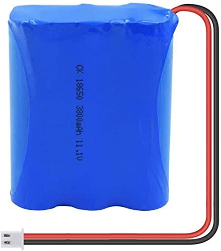 11 1V 3800Mah 18650 Paquete De Batería De Iones De LitioGrupo De Celdas Recargables Reemplazo De Batería De Iones De Litio con Enchufe Xh 1Pcs-1Pcs