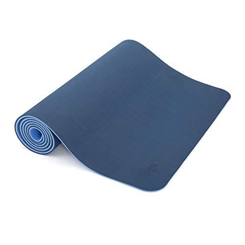 Yogamatte LOTUS PRO, auch für Gymnastik, Pilates und Fitness, weiche und rutschfeste TPE Matte, hypo-allergen, 100% recyclebar